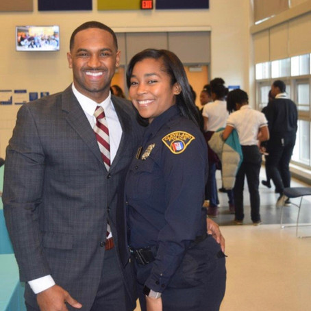 Detective Theresa Crews and FGF Antoine Crews December 2019 Members of the Month