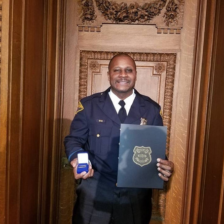 Patrol Officer Anthony Harper February 2020 Member of the Month
