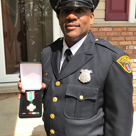 Det. Benjamin McCully October 2020 Member of the Month