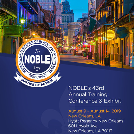 2019 43rd Annual NOBLE Training Conference and Exhibit