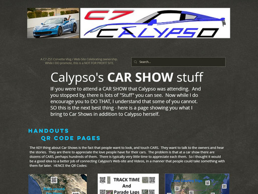 New Page = CAR SHOW STUFF