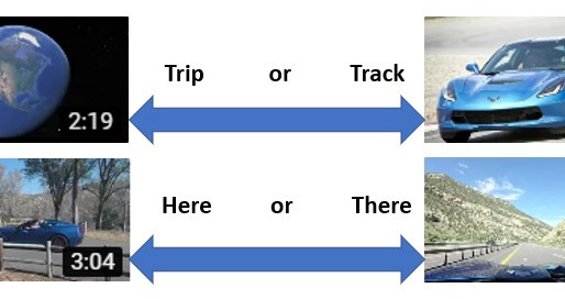 Trip or Track, Here or There