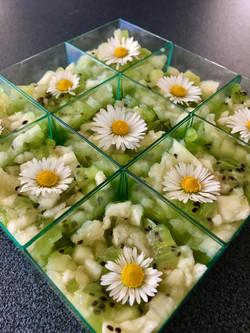 Tartare ananas-kiwi