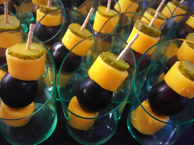 Brochette de mimolette
