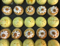 Poulet au curry - Feuilleté amandes