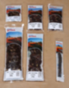 Closwa Biltong Packaging Options