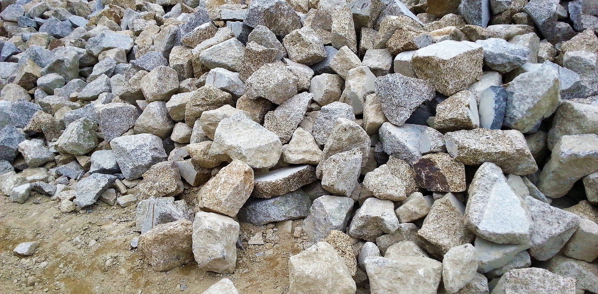 Picking Granite Rocks