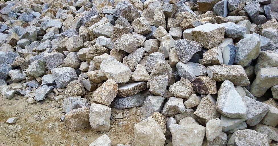 Picking Granite Rocks