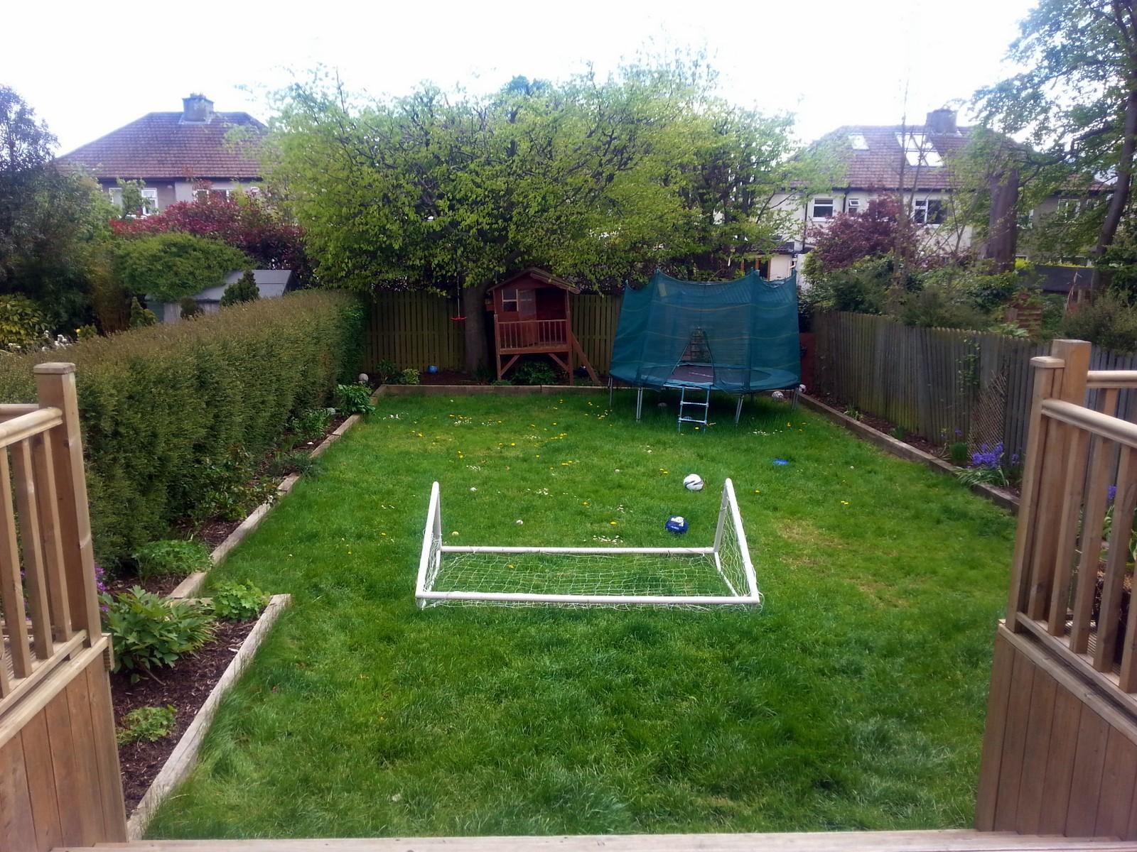 1.Garden before