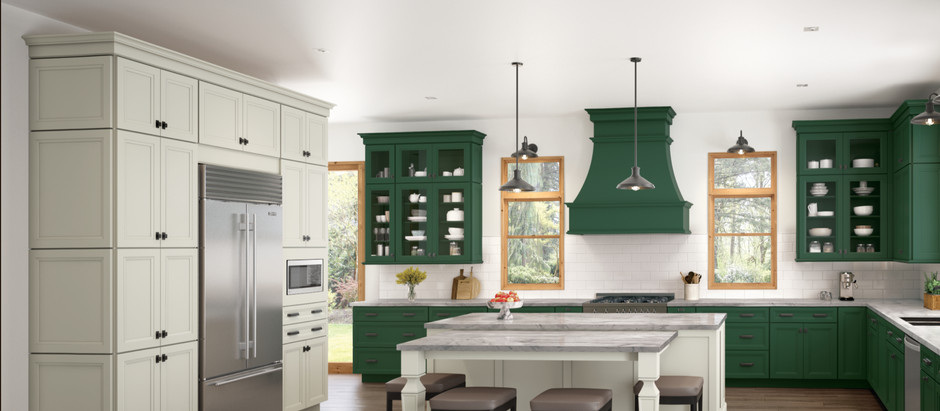 Order Kitchen Cabinets in Exactly the Color You Want? Now You Can!