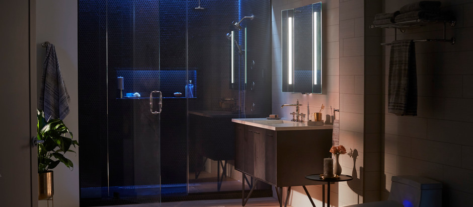 Color, Technology and Tranquility for Modern Bathroom Design