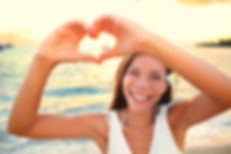 bigstock-Love-vacation--woman-showing--7