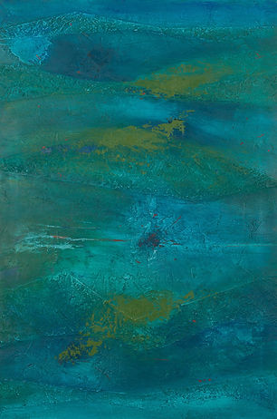 Territoire 9, peinture acrylique sur toile, 2013