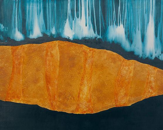 Territoire 22, peinture acrylique sur bois, 2014