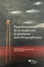 Transformation de la modernité et pratiques (auto)biographiques, 2012