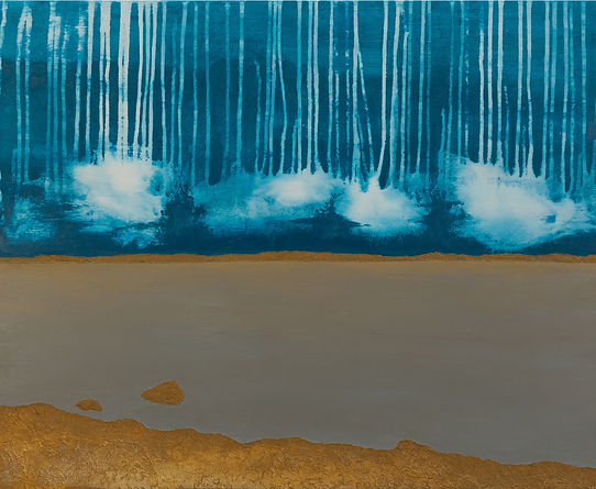 Territoire 11, peinture acrylique sur bois, 2013