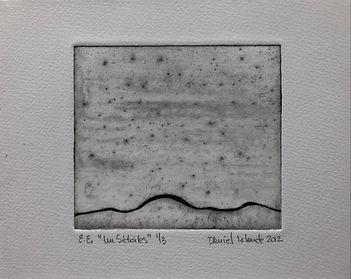 Un 5 étoiles, 2012, 17 X 22 cm, collagraphie