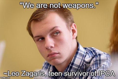Leo Zagaris not weapons.jpg