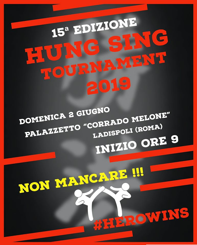 Torneo Hung Sing 2019