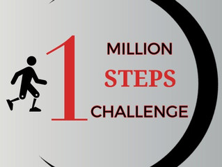 One Million Step Challenge AWS  2019 Year End Numbers