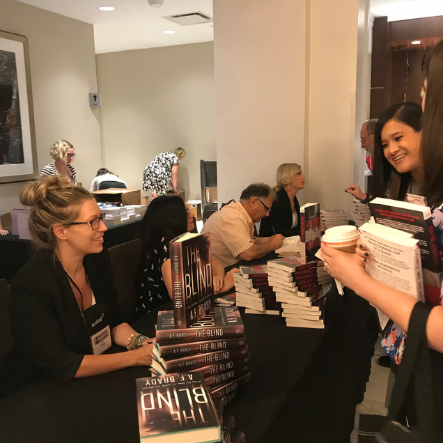 Book Signing ThrillerFest 2018 NYC