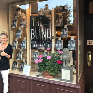 The Blind Book Launch at The Corner Bookstore NYC