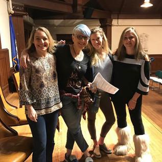Wendy Walker, Lisa Lampanelli & Lynne Constantine