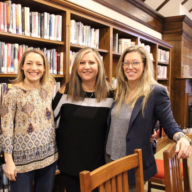 Pequot Library Women of Suspense Panel