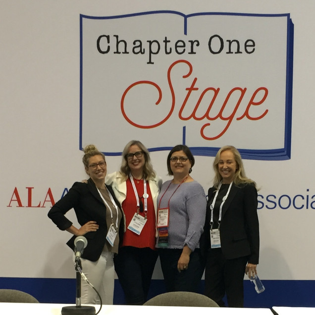 ALA 2017 Panel with JT Ellison & Kaira Rouda, moderated by Rebecca Vnuk