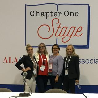 ALA 2017 Panel with JT Ellison & Kaira Rouda, moderated by Rebecca Vnuk
