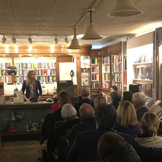 Once a Liar Reading at The Corner Bookstore NYC