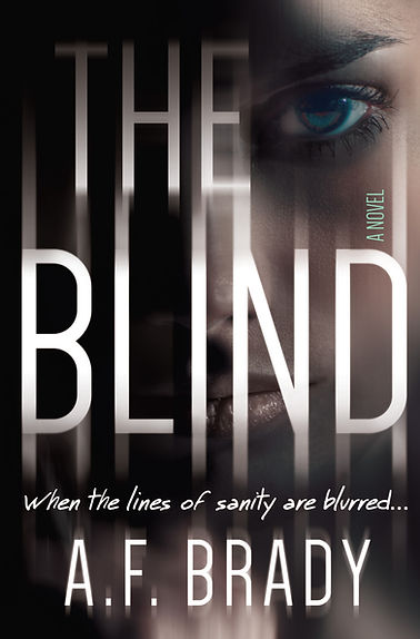 The Blind, a novel by A.F. Brady