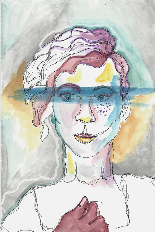 Align Myself (5x7)