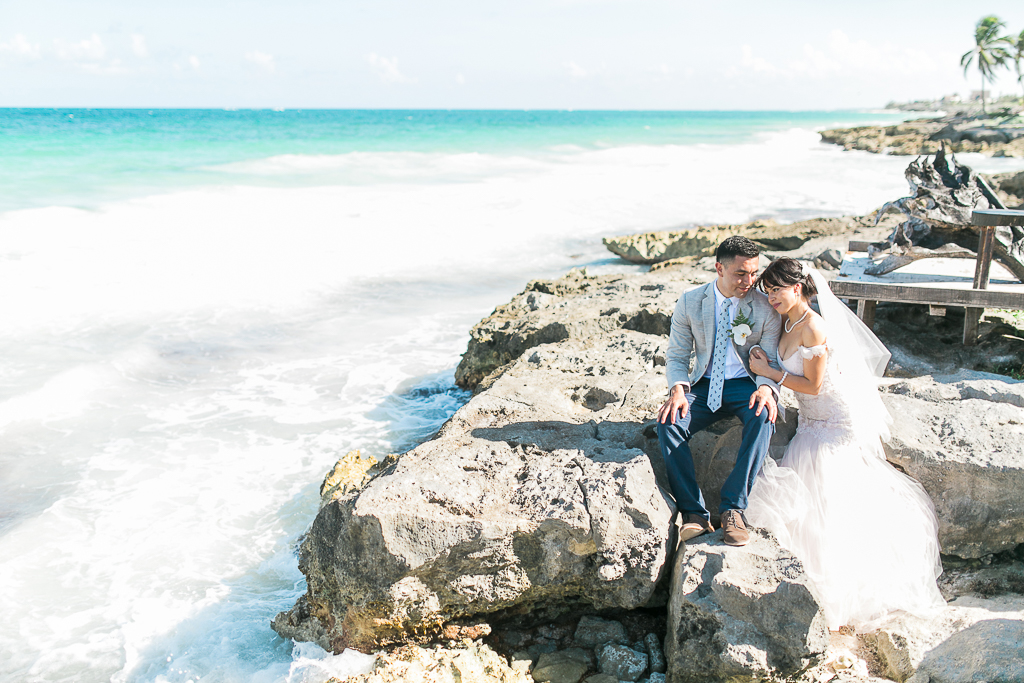 tulum mexico beach wedding photographer-2