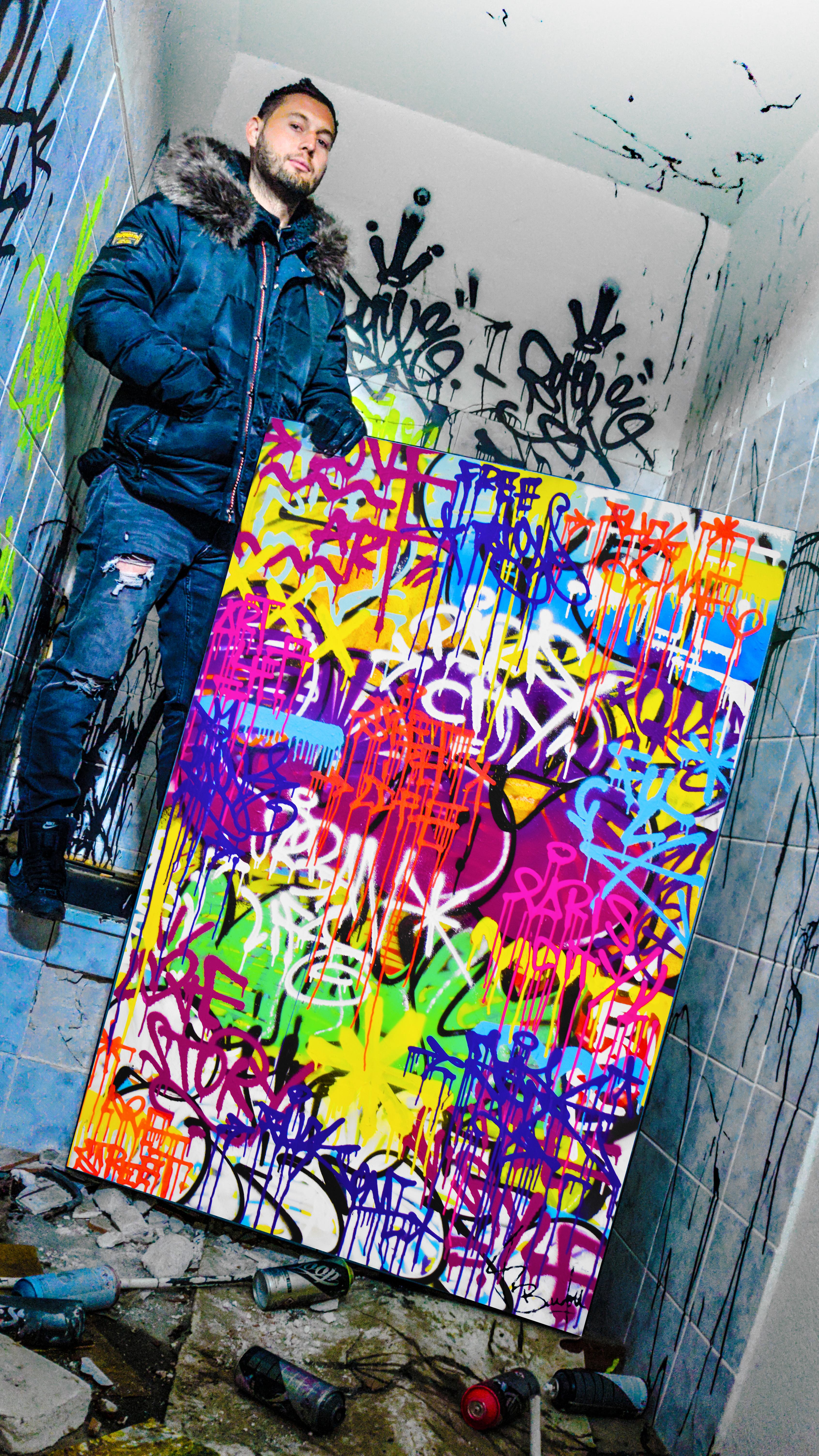 peinture street art