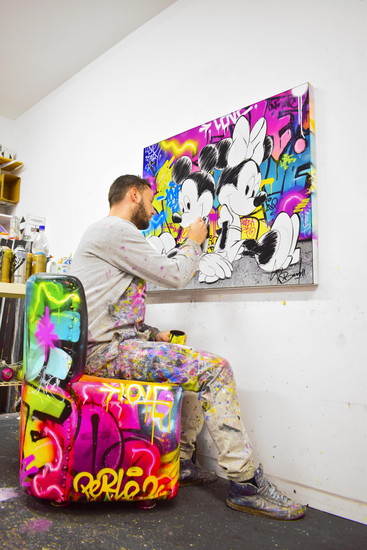 peinture mickey