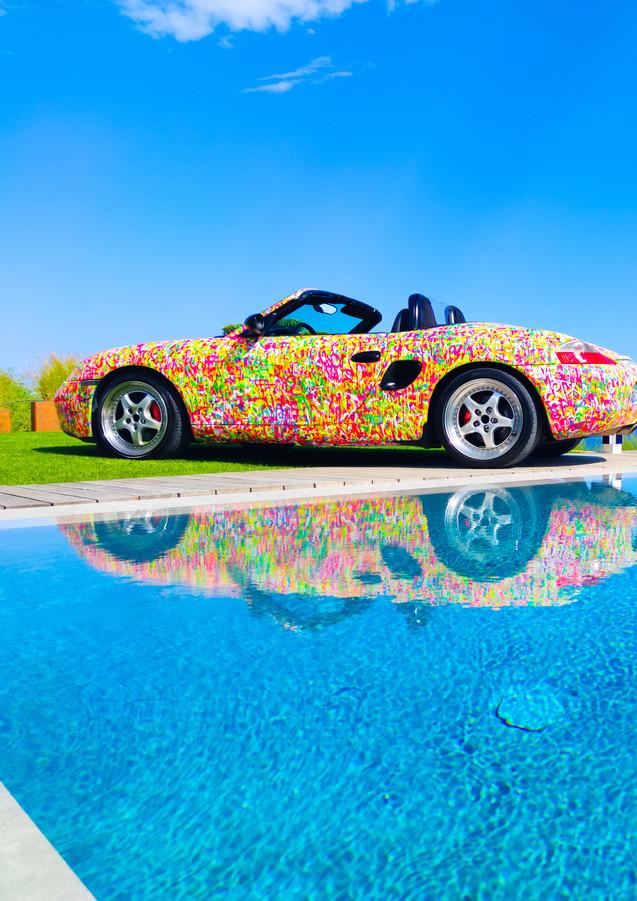street art car