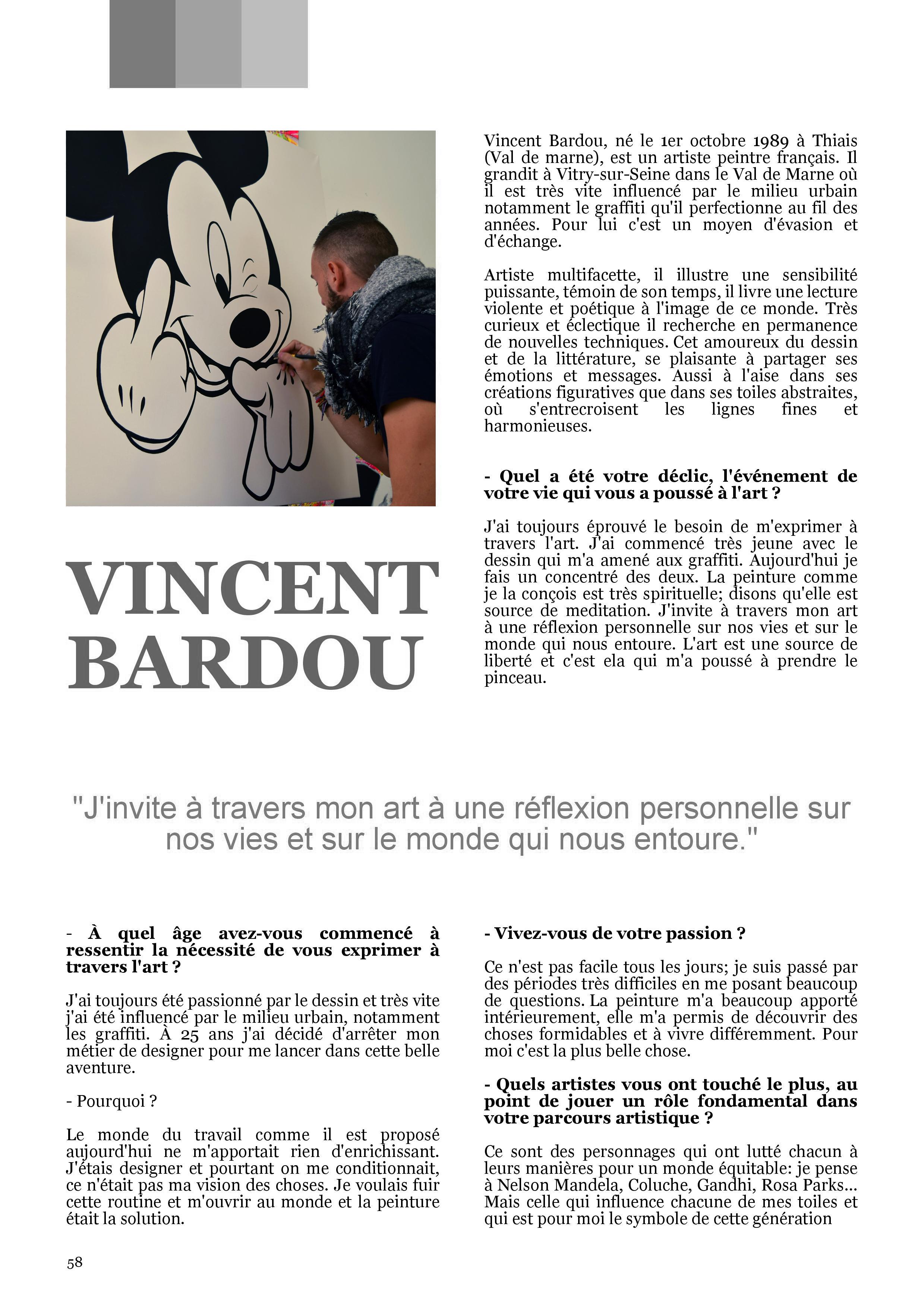 """magasine """"C DE L'ART""""'"""