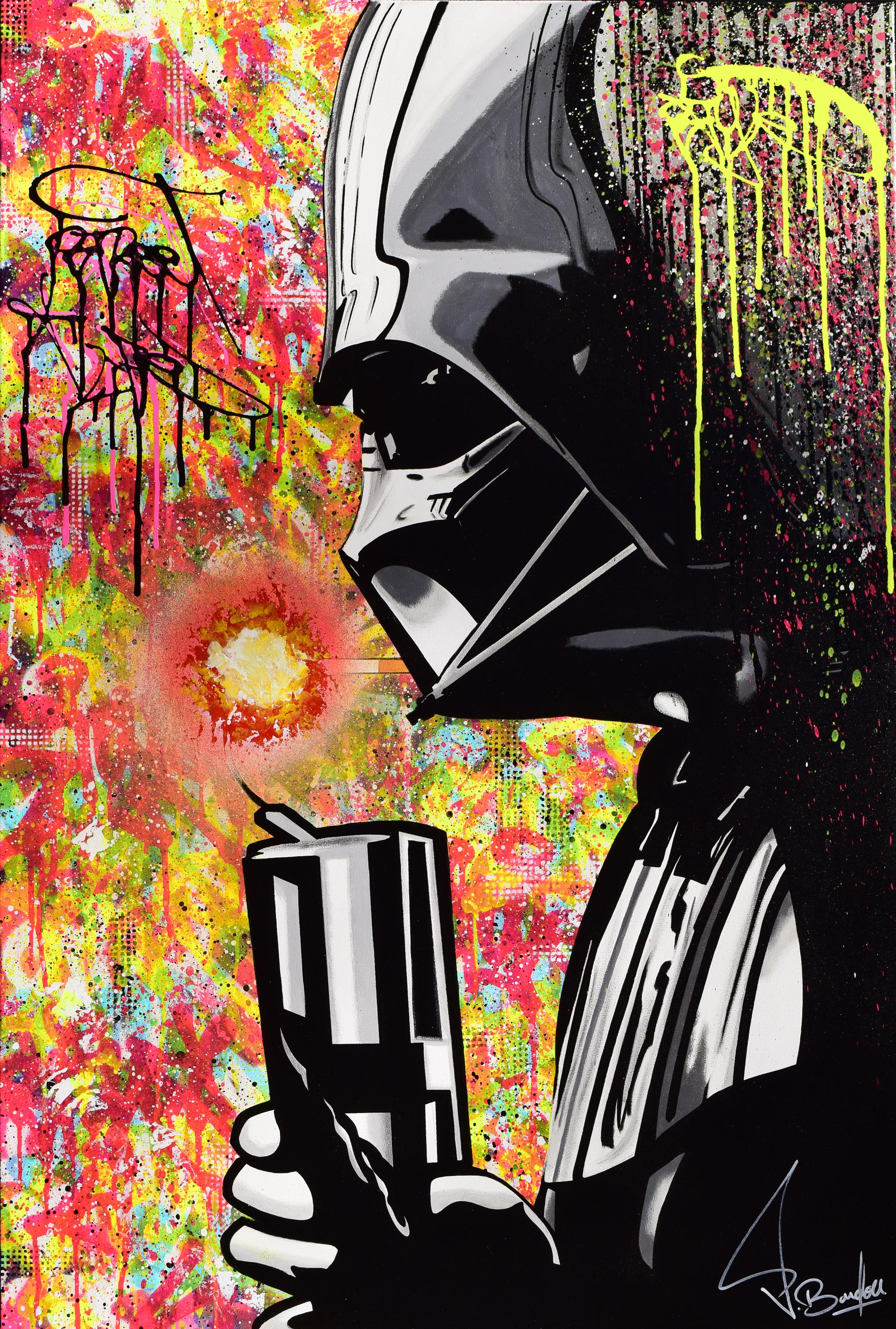 dark vador painting