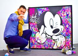 mickey painting