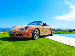 voiture graffiti