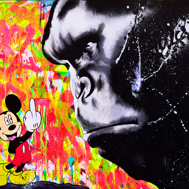 MICKEY VS KING KONG
