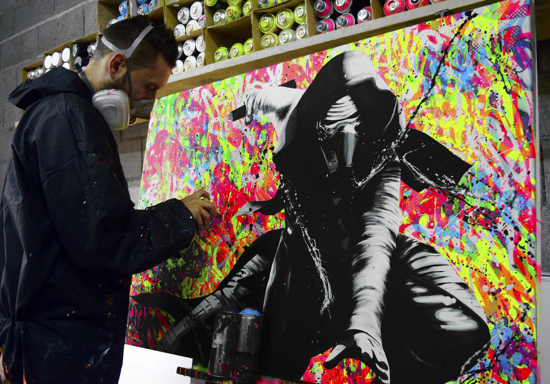 painting street art