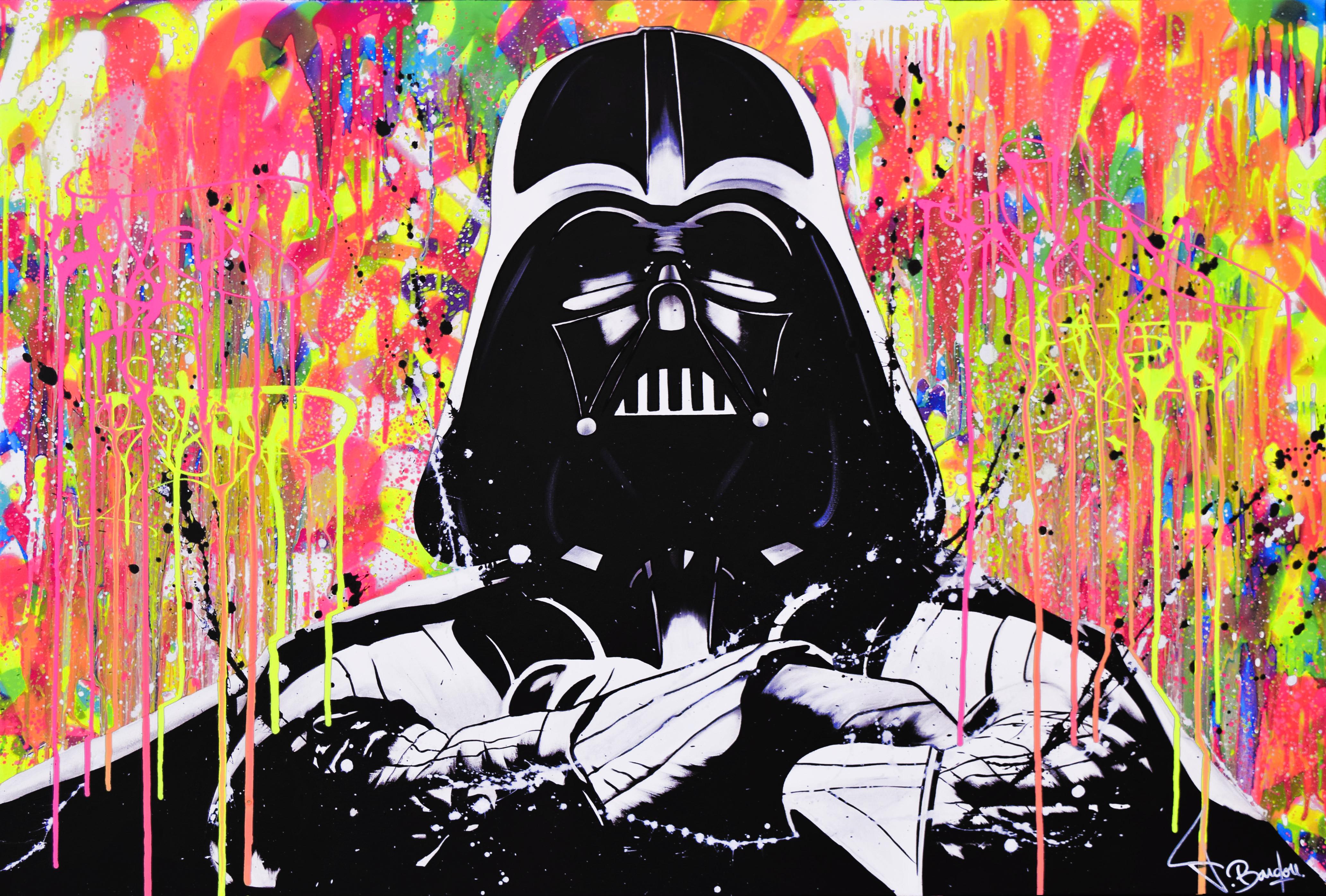 dark vador peinture