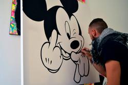 mickey street art