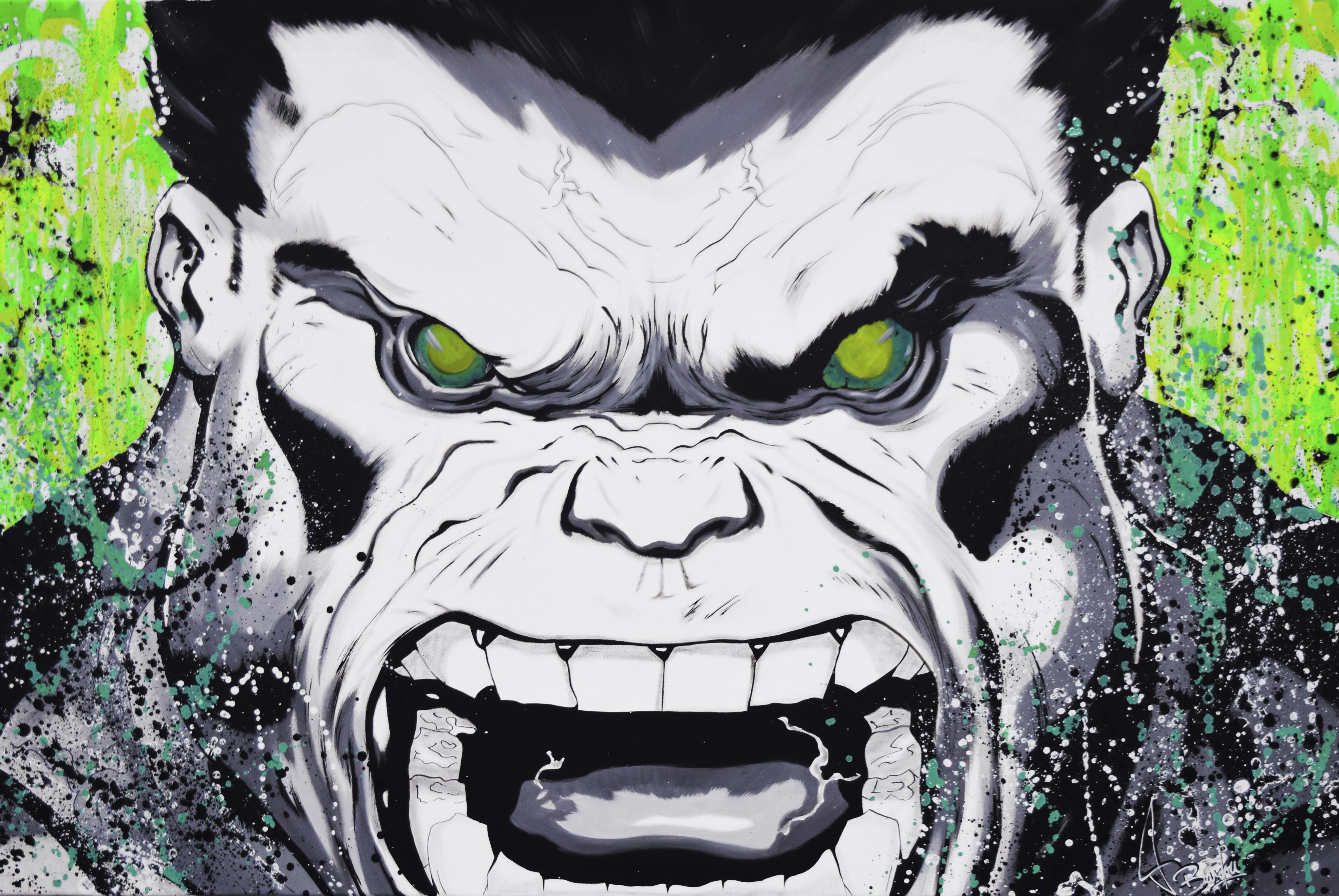 hulk painting
