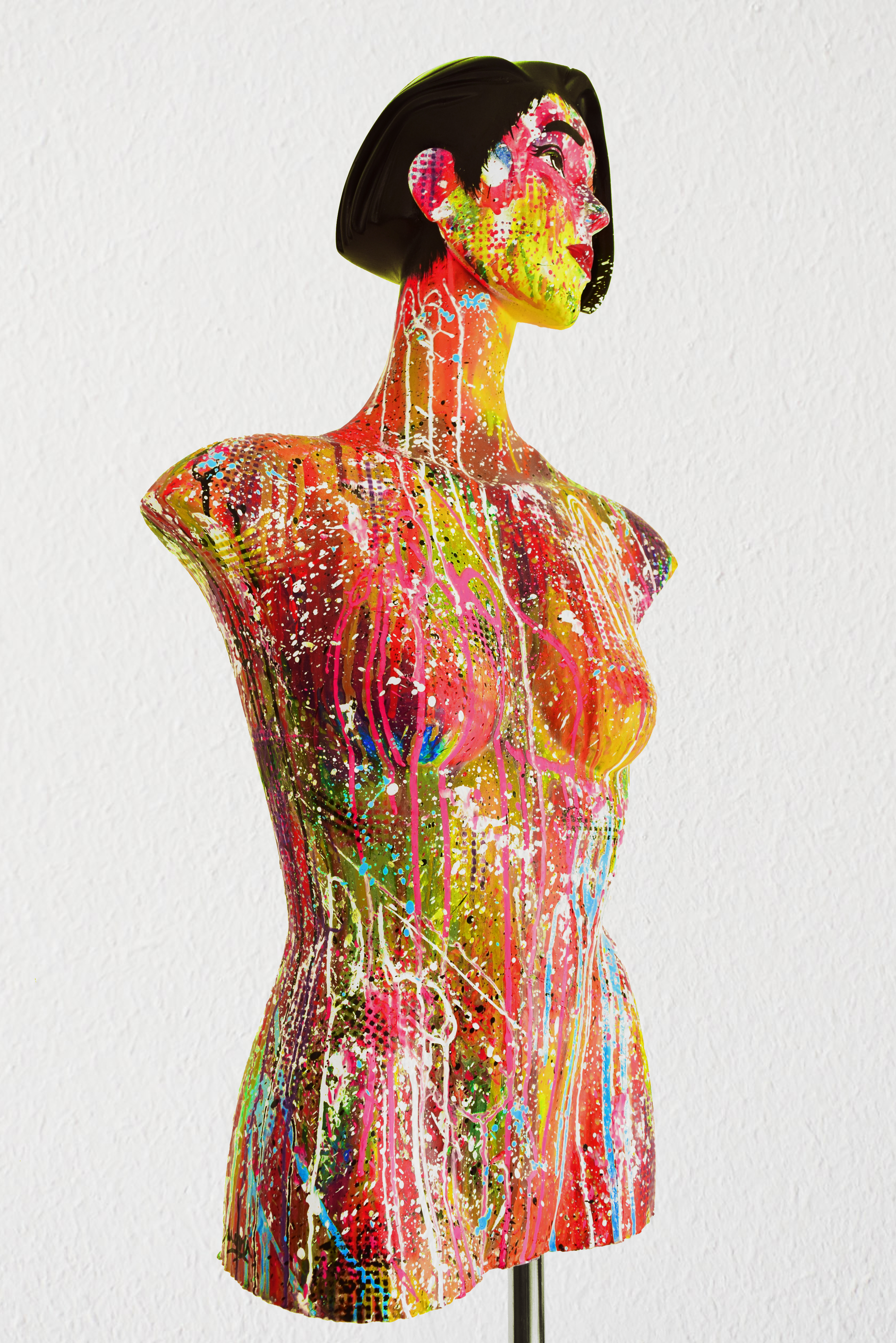 mannequin painting