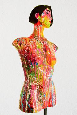 mannequin painting