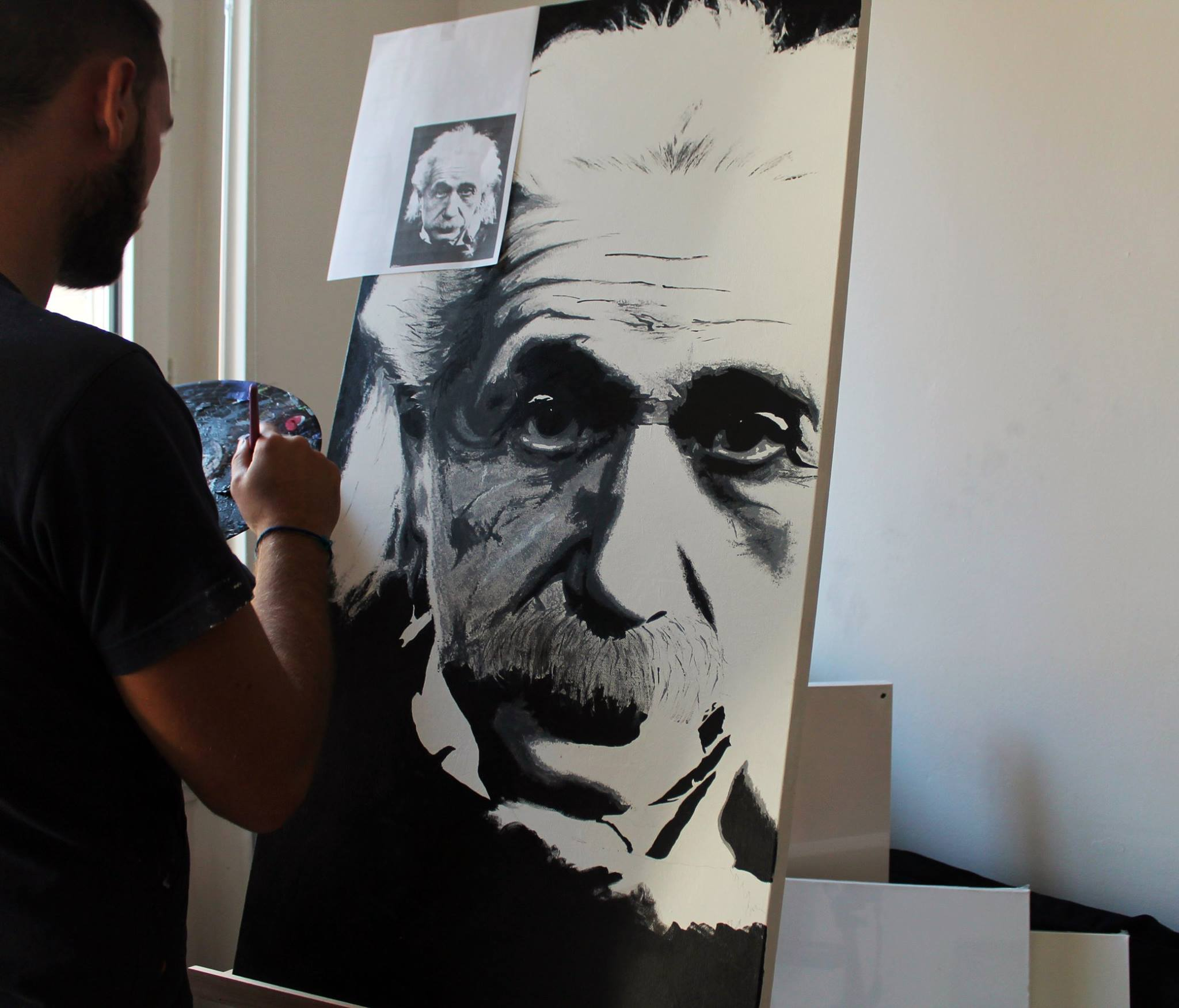 albert einstein artwork