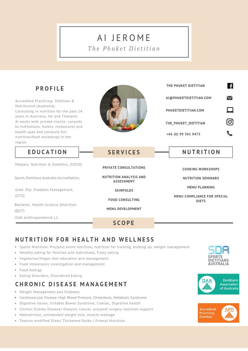 Dietitian Nutrition Services